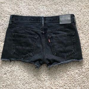 Levi's Shorts - Levi's Distressed Cutoff Shorts